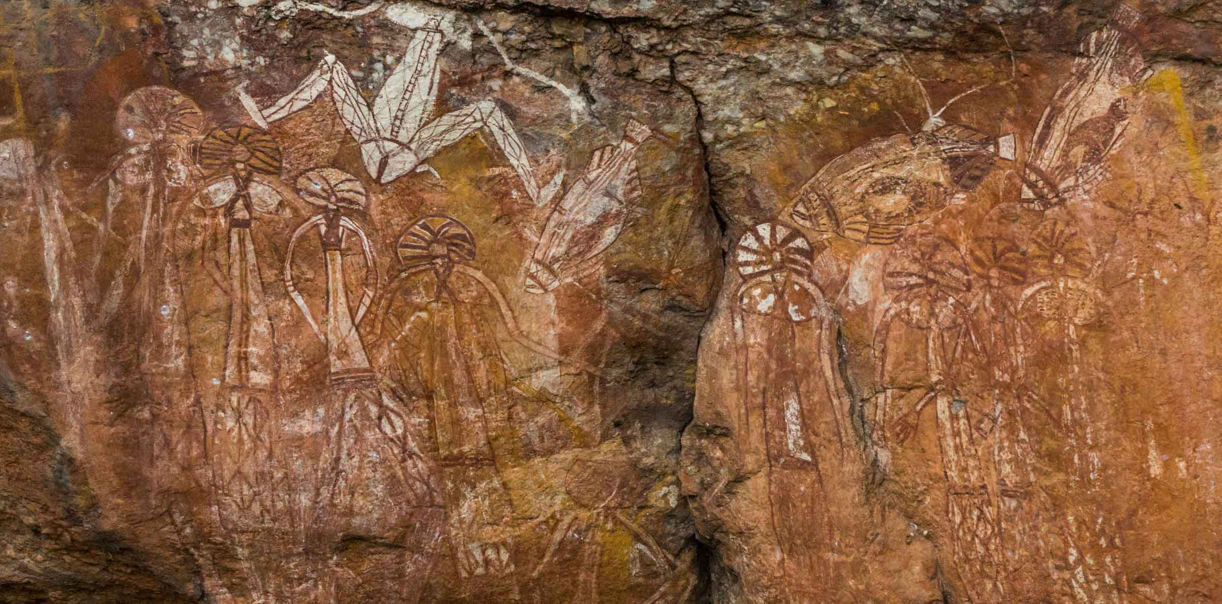 Indigenous rock art