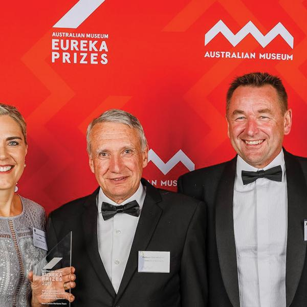 Blue Carbon Horizons Team wins Eureka Prize