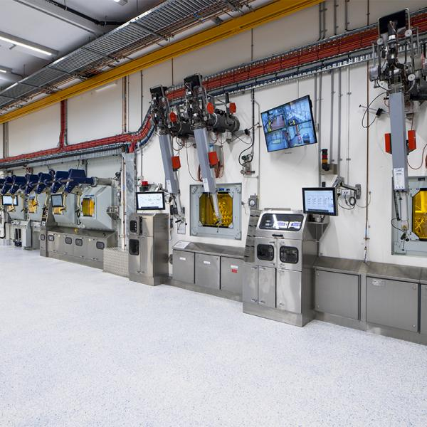 Hot cells ANM facility