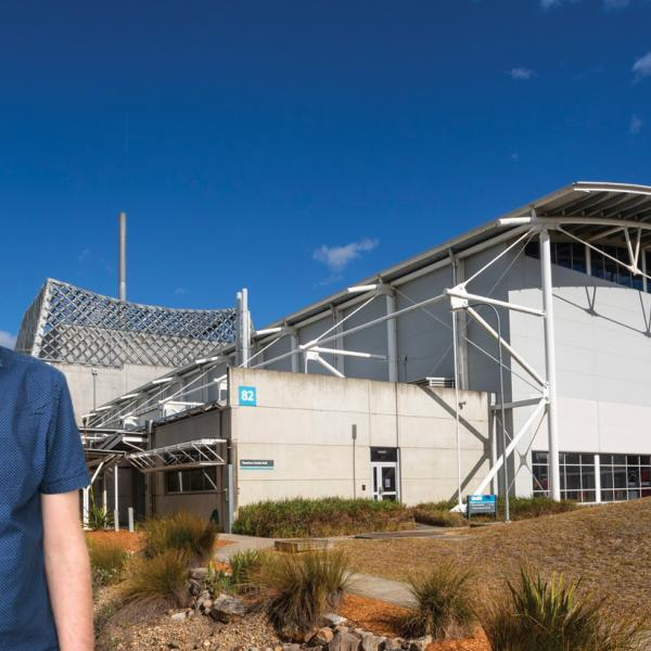 Matthew Teusner at the Australian Centre for Neutron Scattering