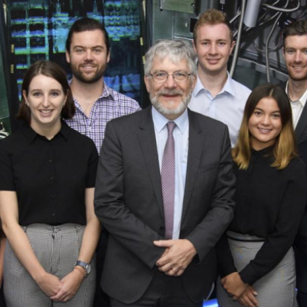 Top students selected to work with Australia's best Nuclear Scientists