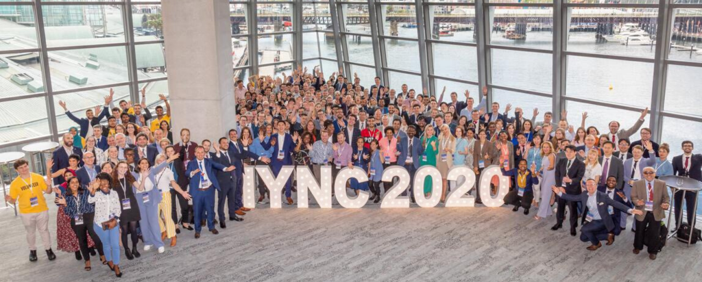 All attendees of the International Youth in Nuclear Conference in Sydney.
