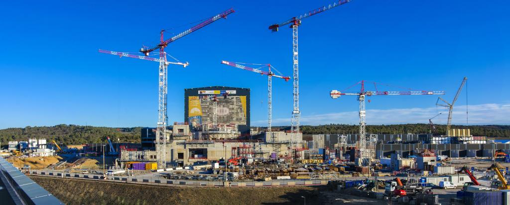 ITER fusion power research