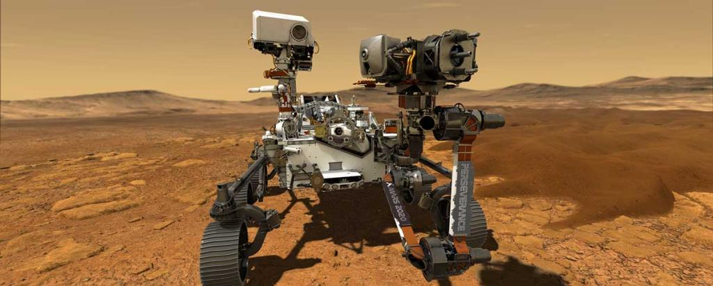 NASA Perseverence Rover