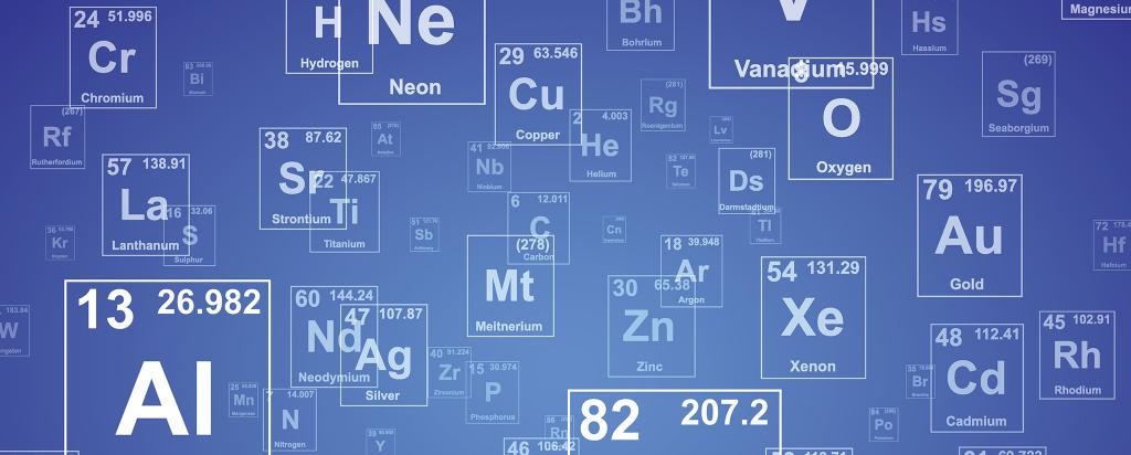 Chemical Elements banner image