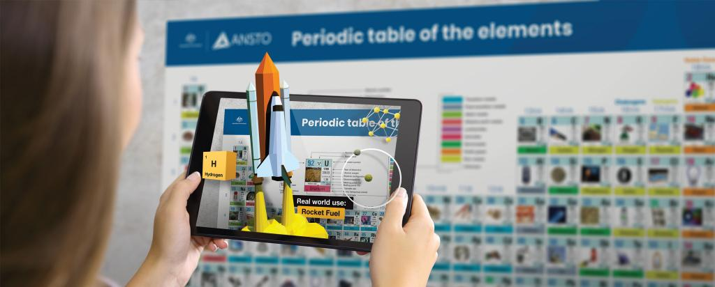 Bring the Periodic Table to life with Augmented Reality