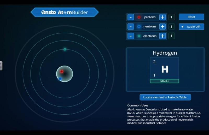 ANSTO Atom Builder - Screenshot 1