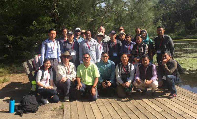 IAEA training course field trip