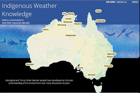 Indigenous weather knowledge from BOM