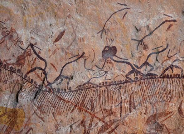 Absolute dating of cave art
