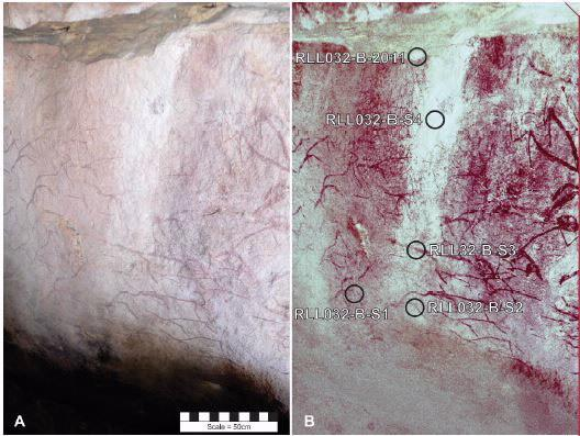 Carbon dating rock paintings